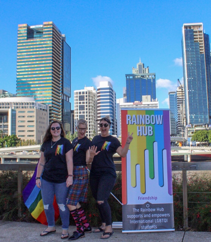 Rainbow Hub, The Edge, Brisbane