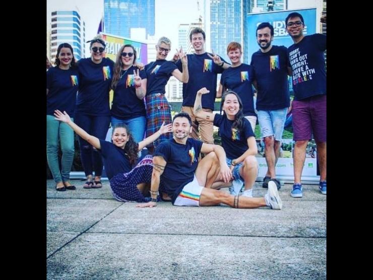 Rainbow Hub, The Edge, Brisbane