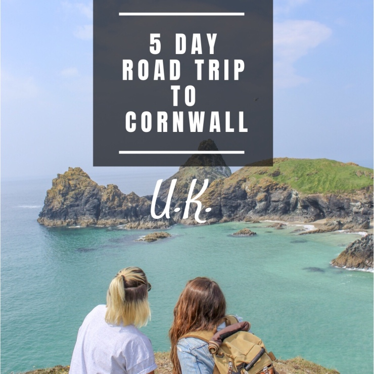 5 Day Cornwall Road Trip