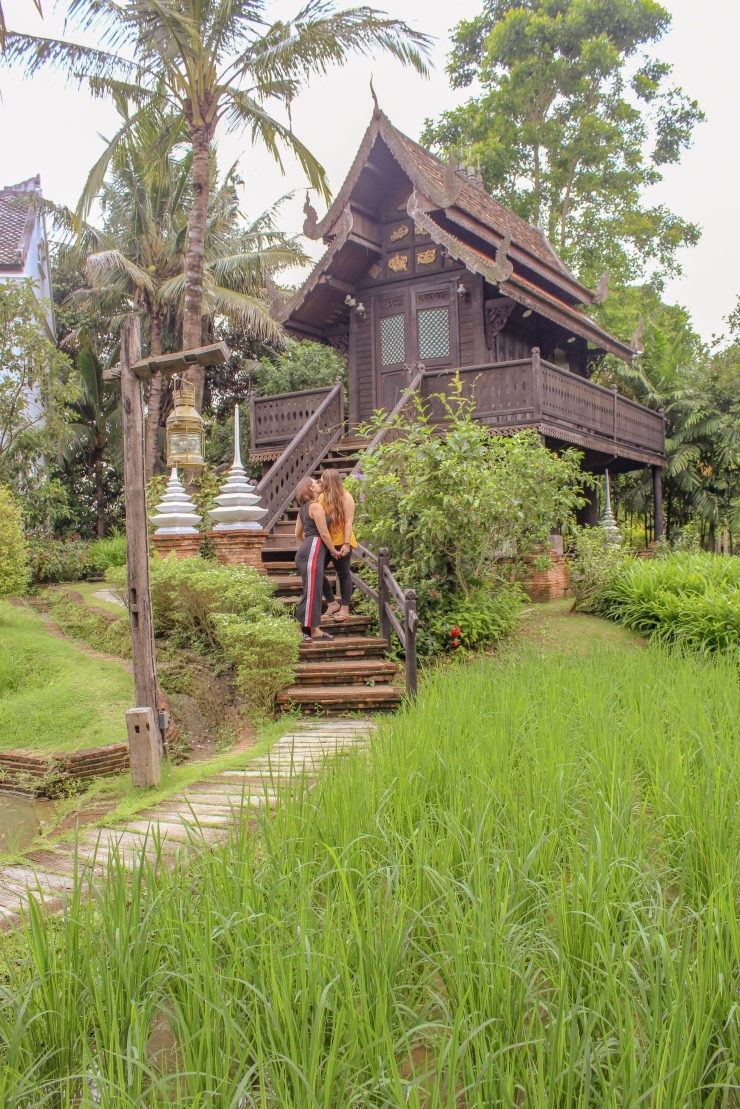 Rice Barn Villa at The Marndadee Heritage River Village, Chiang Mai