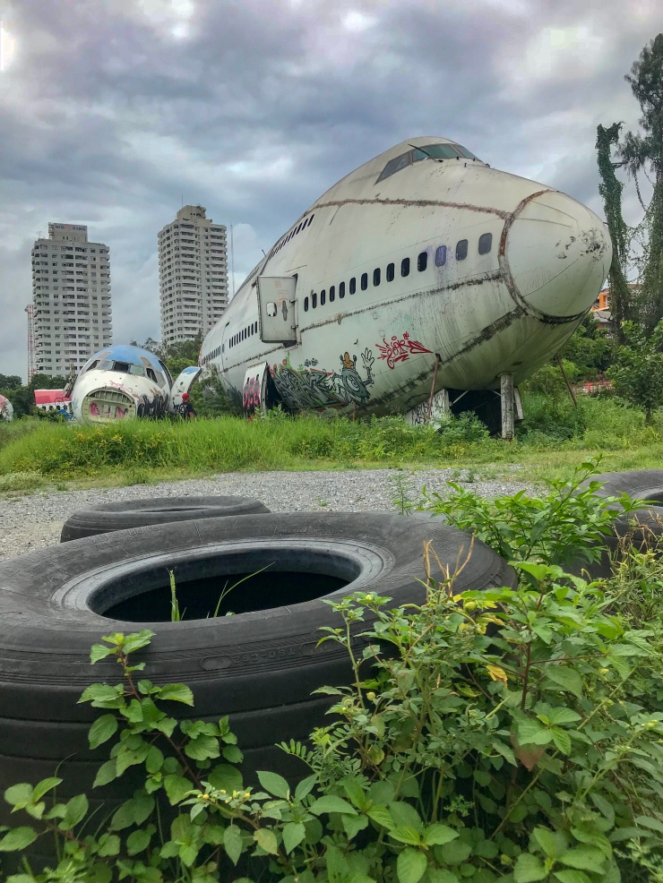 How to spend 2 days in Bangkok - Airplane Graveyard