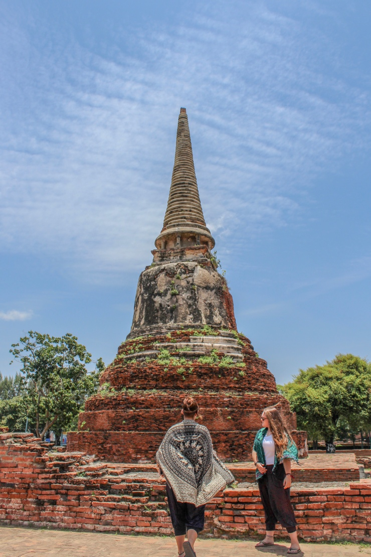 Wat Mahathat in Ayutthaya, North Thailand