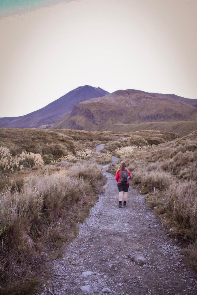Tongariro Alpine Crossing. The start!