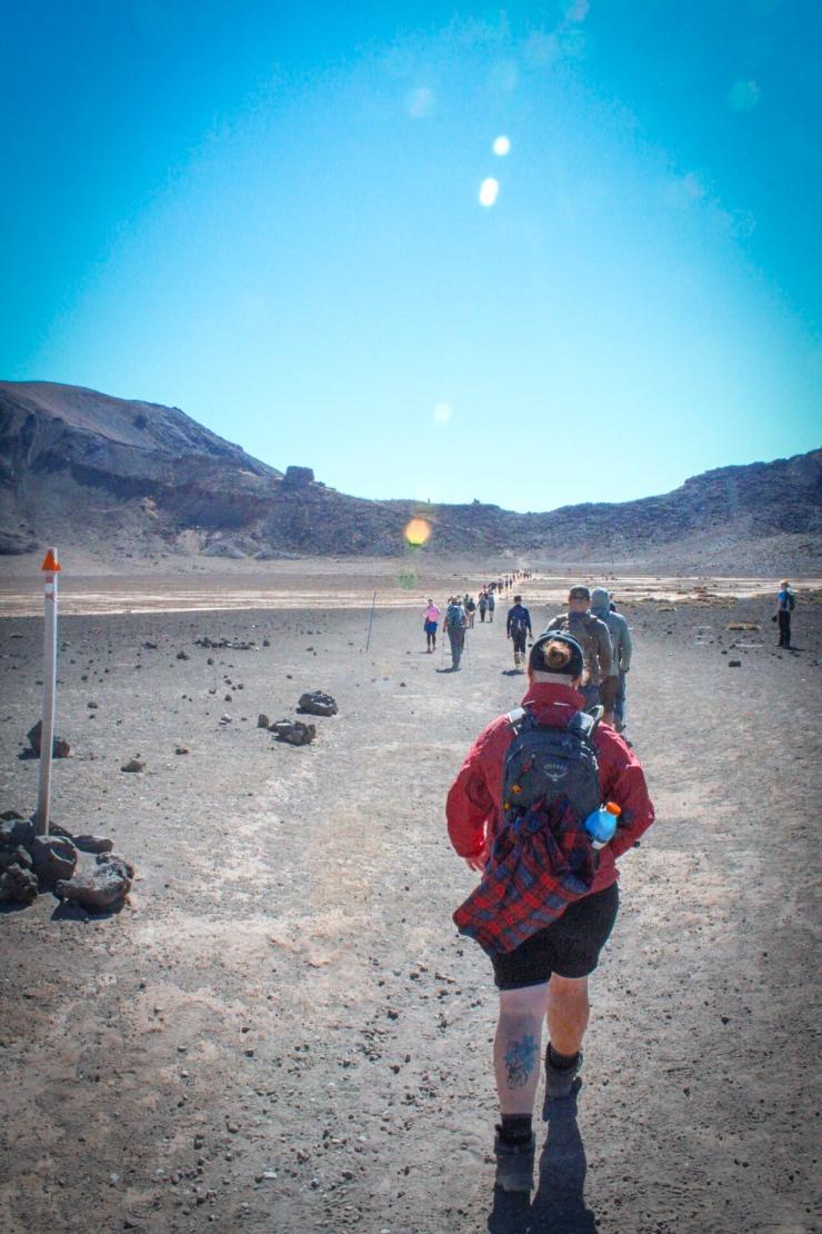 How to survive the Tongariro Alpine Crossing.
