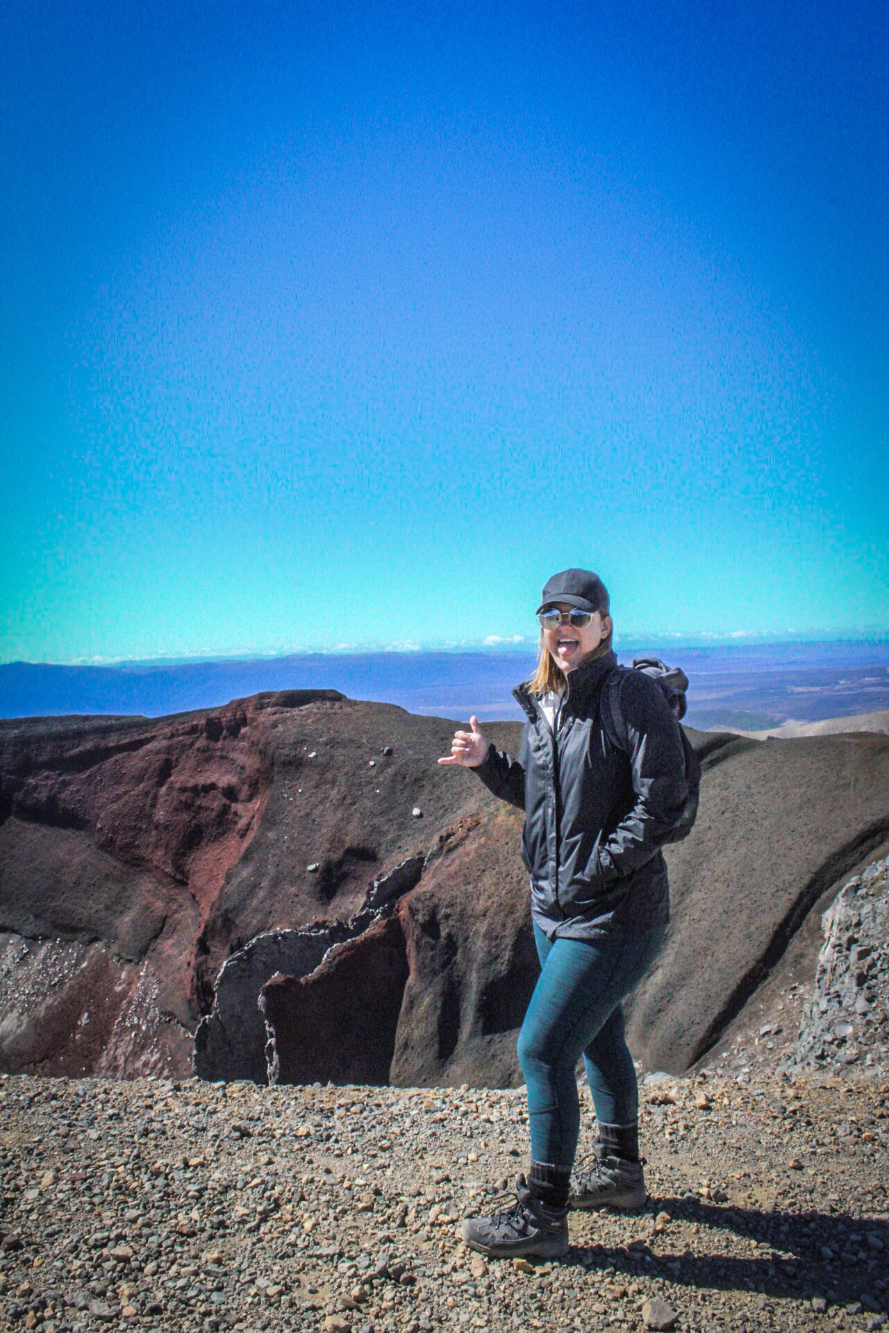 How to survive the Tongariro Alpine Crossing. Red Crater