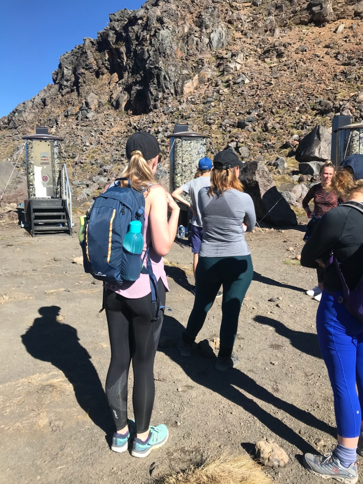 How to survive the Tongariro Alpine Crossing. The long drop!