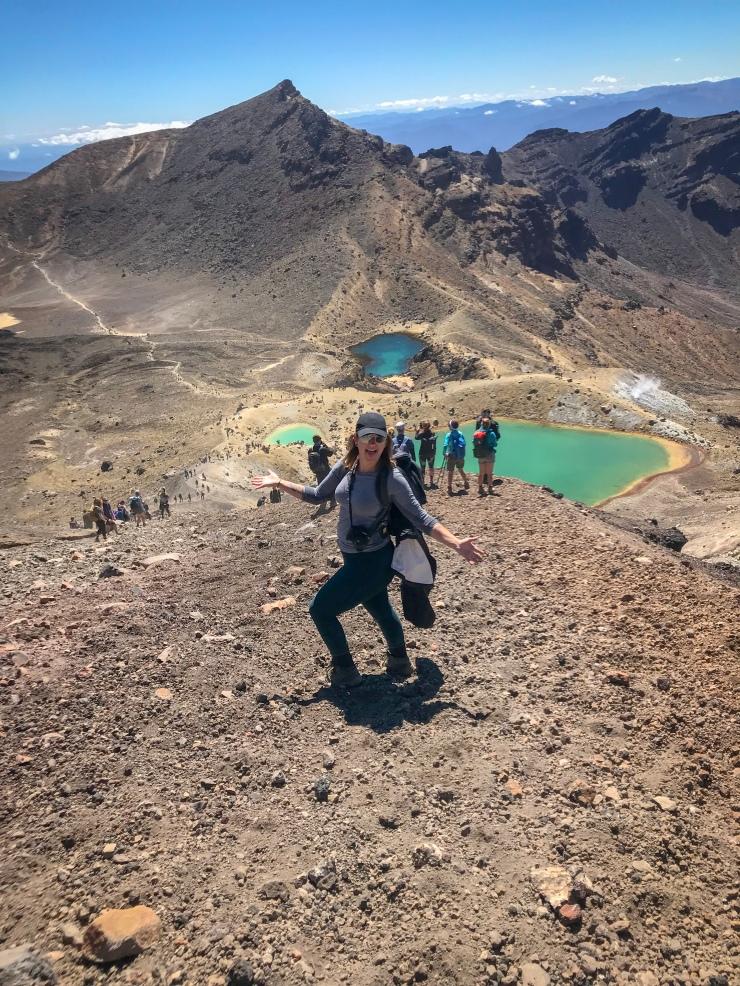 Emerald Lakes of Tongariro Alpine Crossing. How to survive the Tongariro Alpine Crossing
