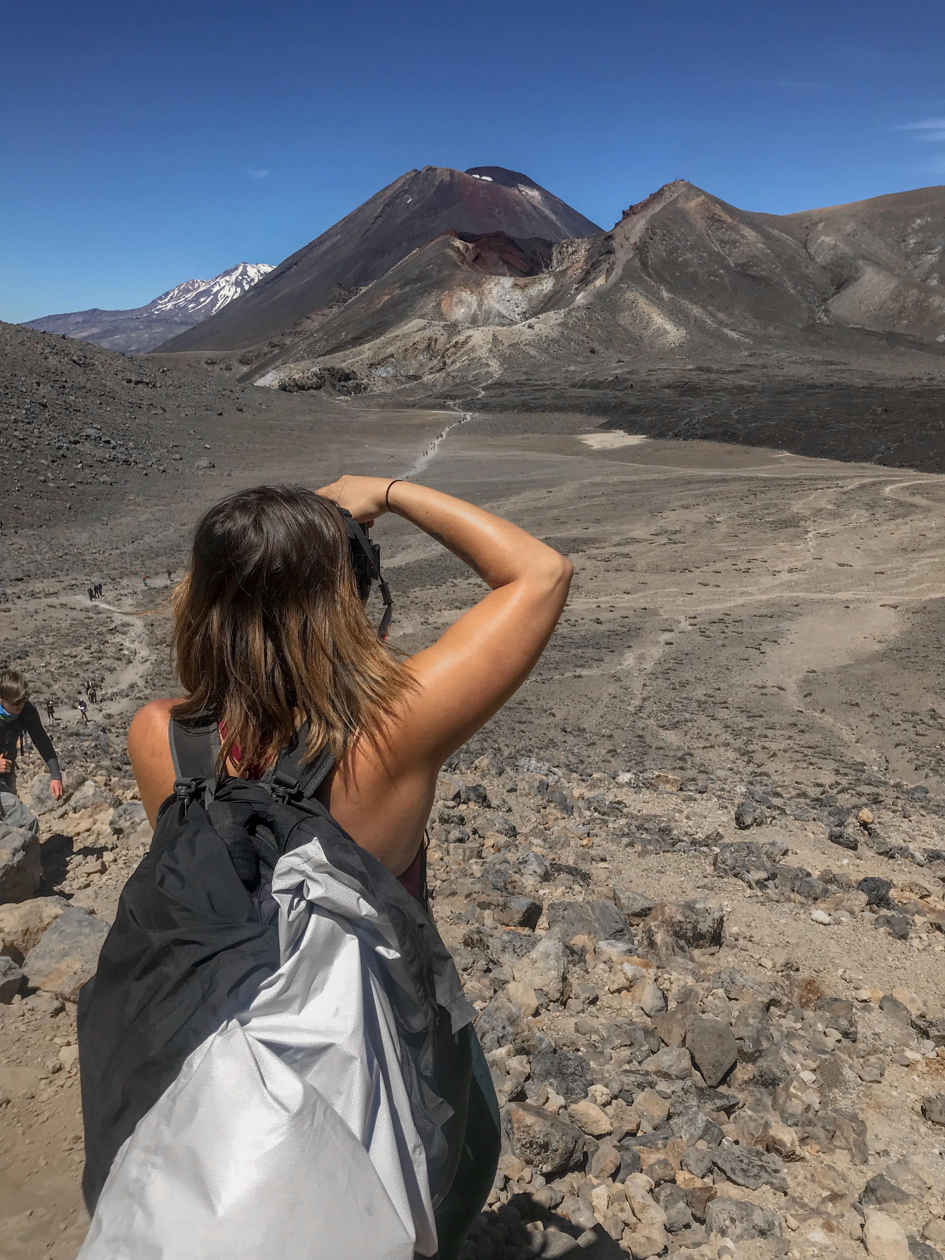 How to survive the Tongariro Alpine Crossing. Mount Doom