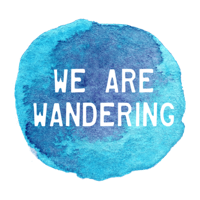 We Are Wandering Travel Logo