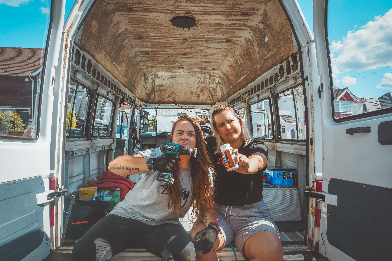 campervan conversion. DIY Van Life
